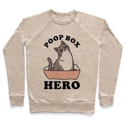 Poop Box Hero Pullover