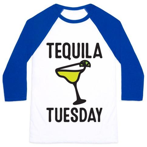 Tequila Tuesday Baseball Tee