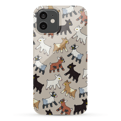Baby Goats On Baby Goats Pattern Phone Case