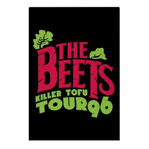 Beets Tour Garden Flag
