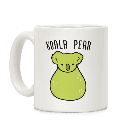 Koala Pear Coffee Mug