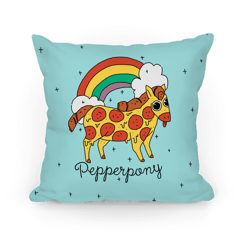Pepperpony Pillow