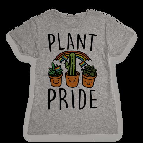Plant Pride Womens T-Shirt