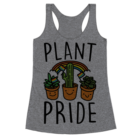 Plant Pride Racerback Tank Top