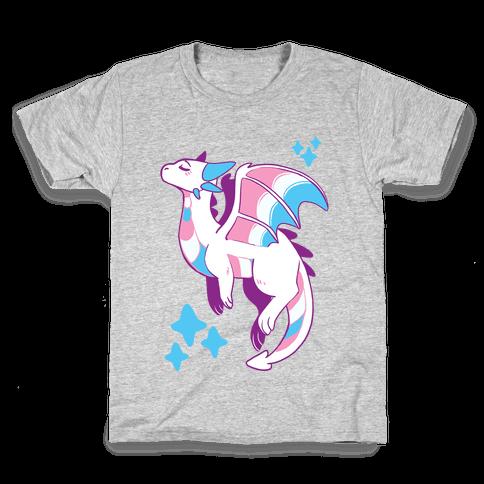 Trans Pride Dragon Kids T-Shirt