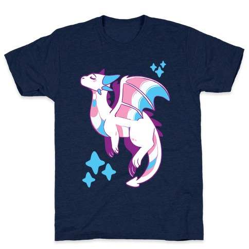 Trans Pride Dragon T-Shirt