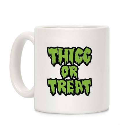 Thicc Or Treat Coffee Mug
