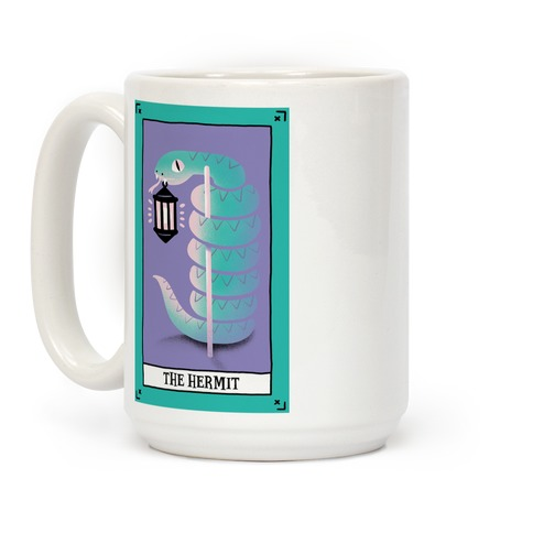 Creepy Cute Tarots: The Hermit Coffee Mug