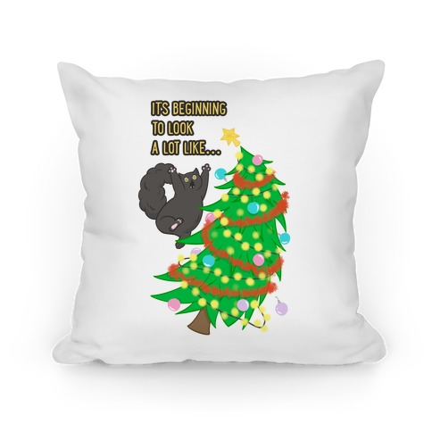 It's Beginning to Look a Lot Like... (chaos) Pillow