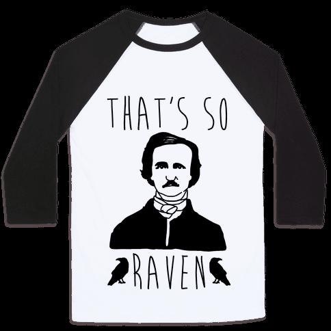 That's So Raven Parody Baseball Tee