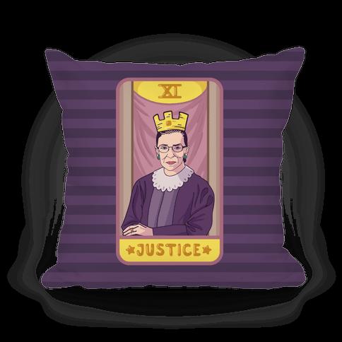 Ruth Bader Ginsburg Justice Tarot Pillow