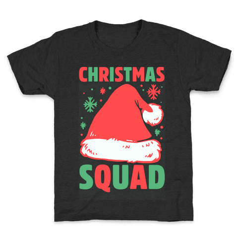 Christmas Squad Kids T-Shirt