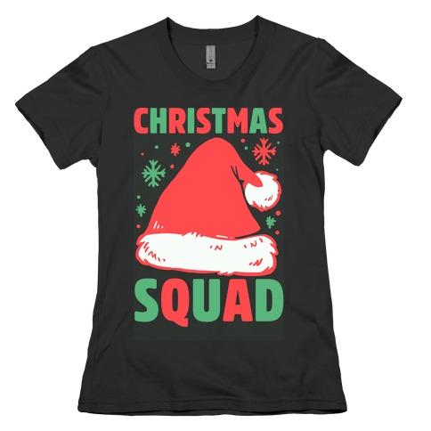 Christmas Squad Womens T-Shirt