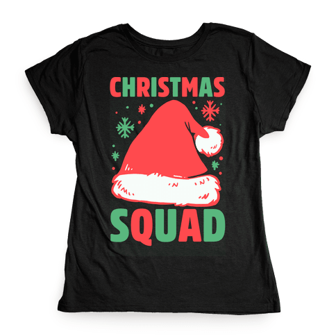 Christmas Squad Womens T-Shirt