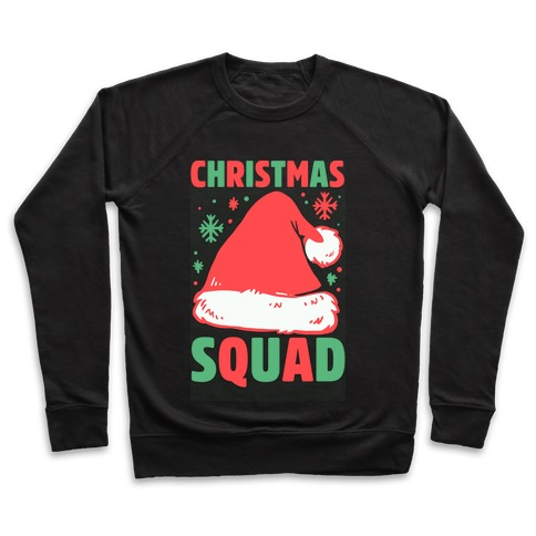 Christmas Squad Pullover