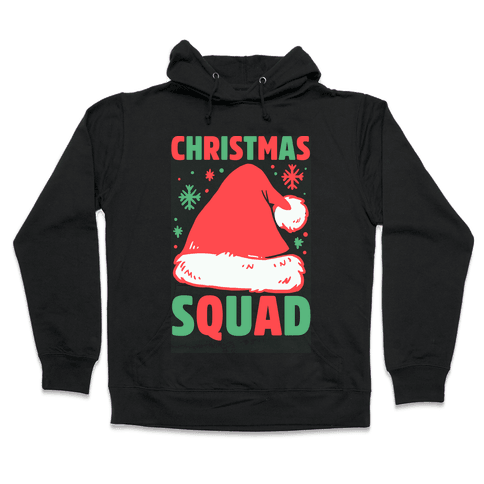 Christmas Squad Hooded Sweatshirt