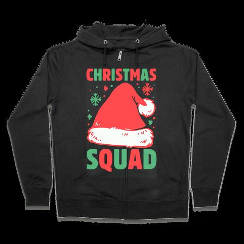Christmas Squad Zip Hoodie