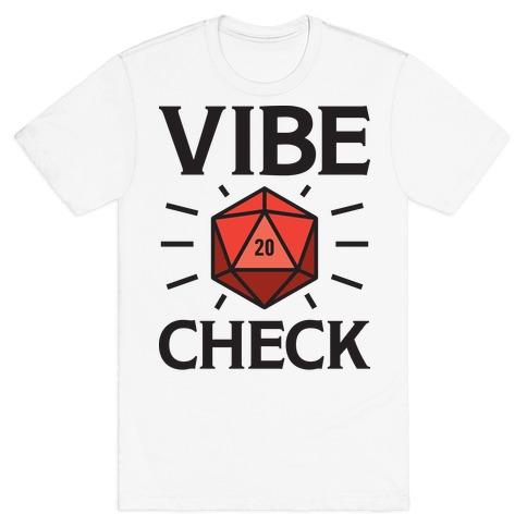 Vibe Check D20 T-Shirt