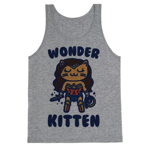 Wonder Kitten Parody Tank Top