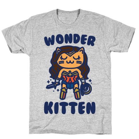 Wonder Kitten Parody T-Shirt