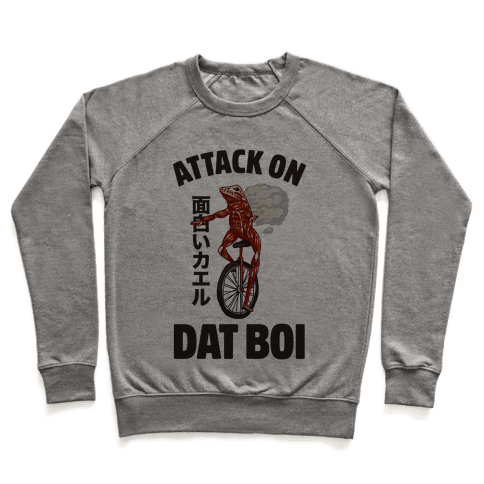 Attack on Dat Boi Pullover