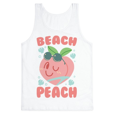 Beach Peach Tank Top