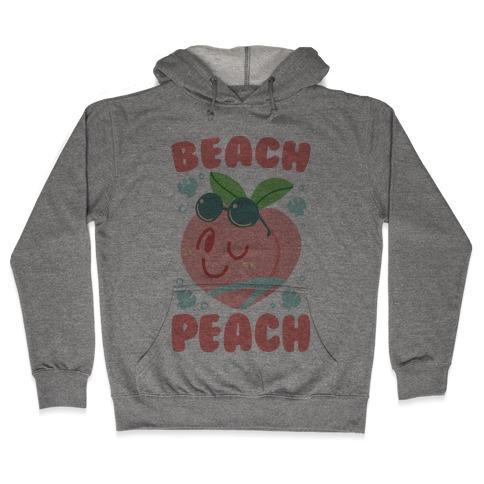 Beach Peach Hooded Sweatshirt