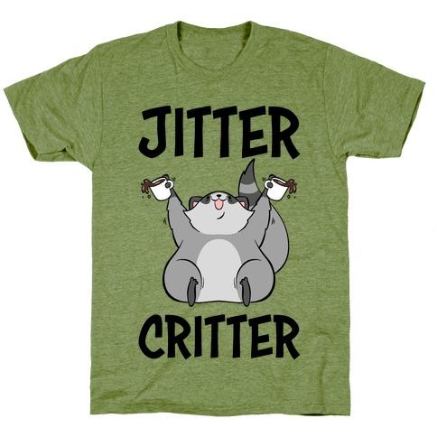 Jitter Critter Mens/Unisex T-Shirt