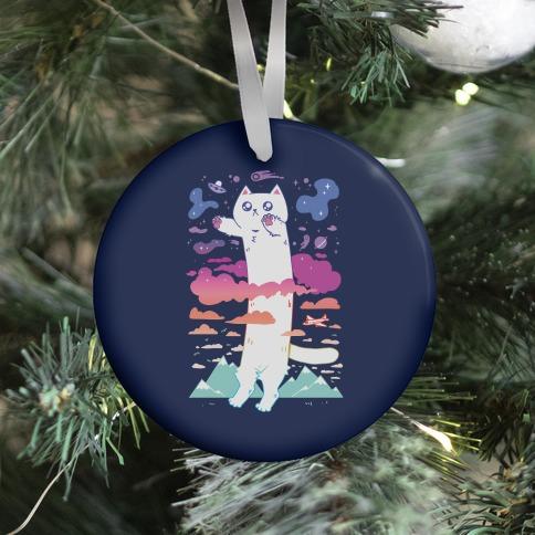 Long Cat Ornament