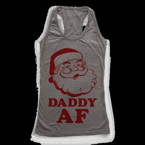 Daddy AF Racerback Tank Top
