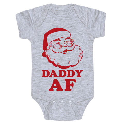 Daddy AF Baby Onesy