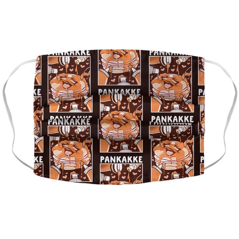 Pankakke Accordion Face Mask