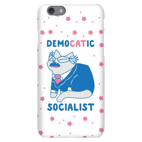 DemoCATic Socialist Phone Case