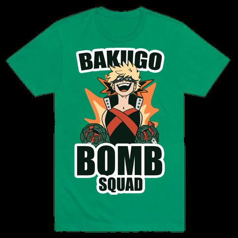 Bakugo Bomb Squad Mens T-Shirt