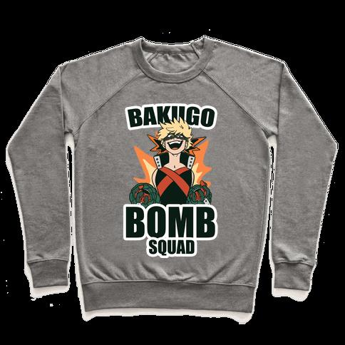 Bakugo Bomb Squad Pullover