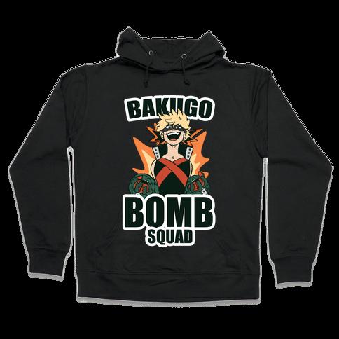 Bakugo Bomb Squad Hooded Sweatshirt