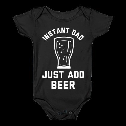 Instant Dad Baby Onesy