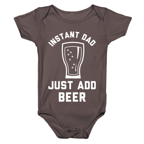 Instant Dad Baby One-Piece