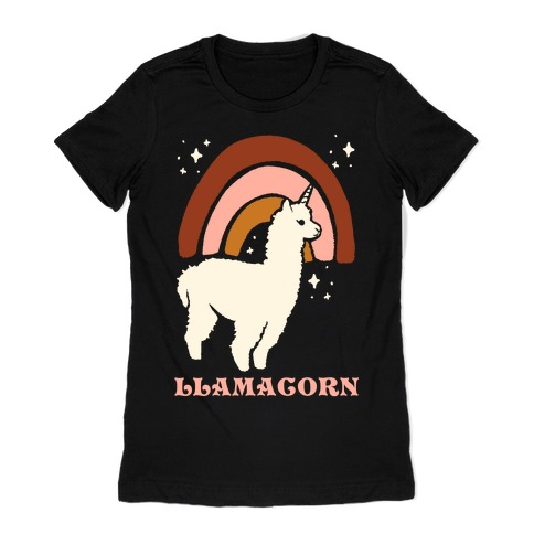 Llamacorn Womens T-Shirt