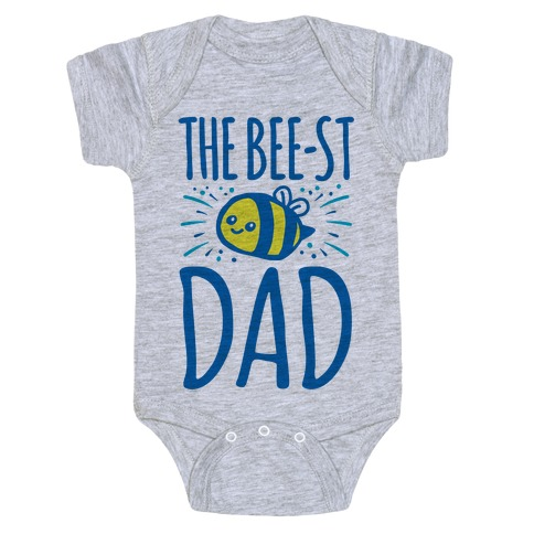 The Bee-st Dad Father's Day Bee Shirt Baby Onesy