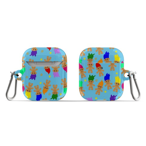 Rainbow Troll Pattern AirPod Case