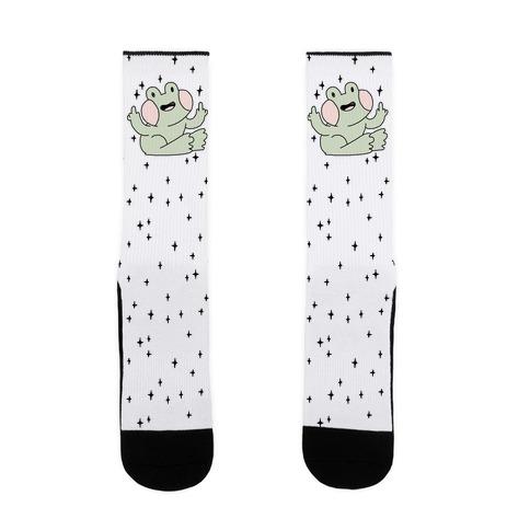 Flicky Frog Sock