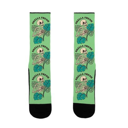 Skella Fresh Plants Sock