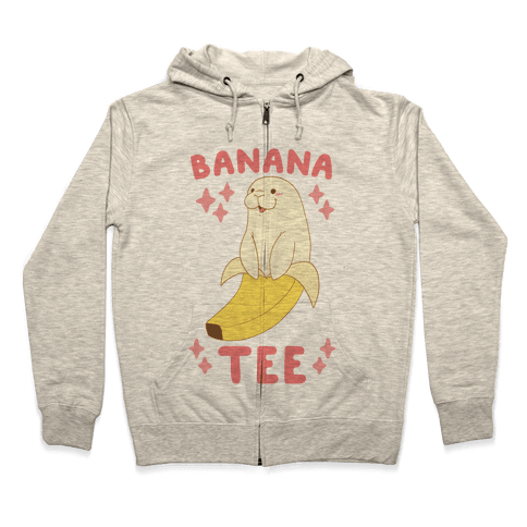 Banana-tee Zip Hoodie