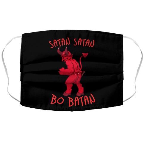 Satan Satan Bo Batan Accordion Face Mask
