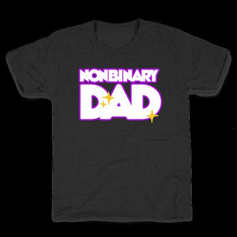 Nonbinary Dad Kids T-Shirt