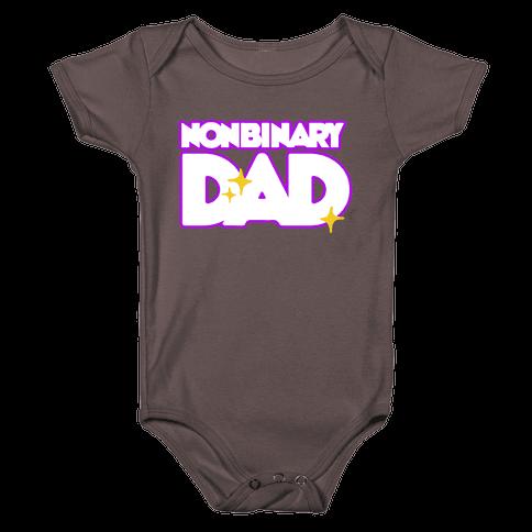 Nonbinary Dad Baby One-Piece
