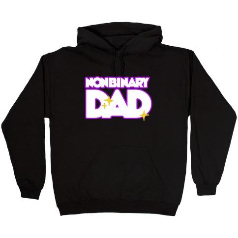 Nonbinary Dad Hooded Sweatshirt