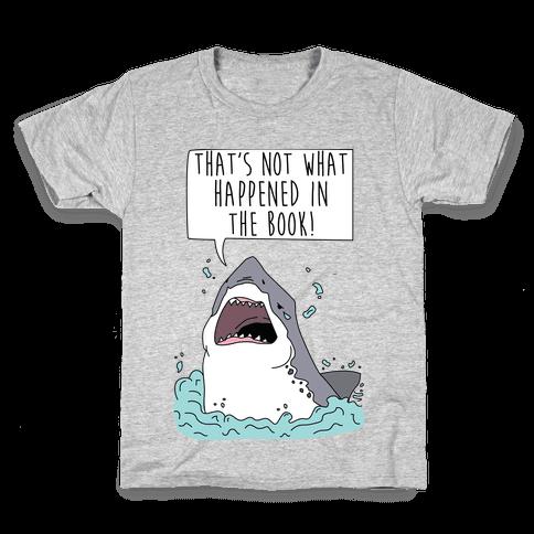Book Shark Kids T-Shirt