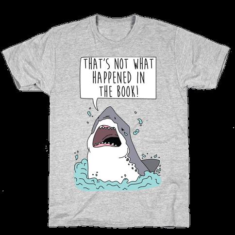 Book Shark Mens T-Shirt